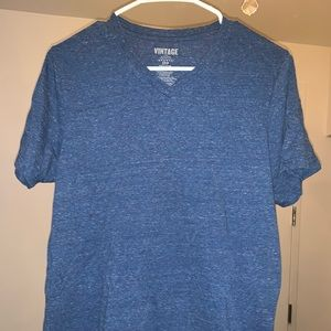 Men V-Nevk Muscle Fit Tee Small